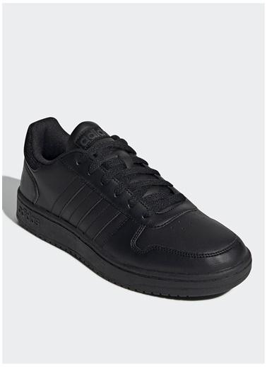 adidas adidas Hoops 2.0 Lifestyle Ayakkabı Siyah